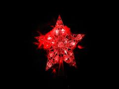 Электрогирлянда верхушка-звезда