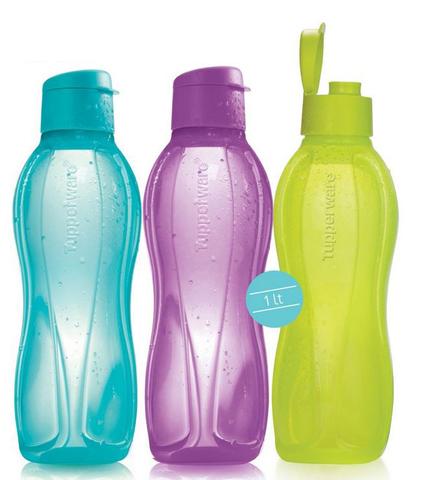 Бутылки эко литровые с клапаном