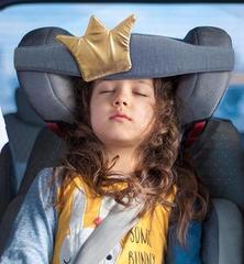 Фиксатор головы ребенка для автокресла Клювонос Принцесса, золото