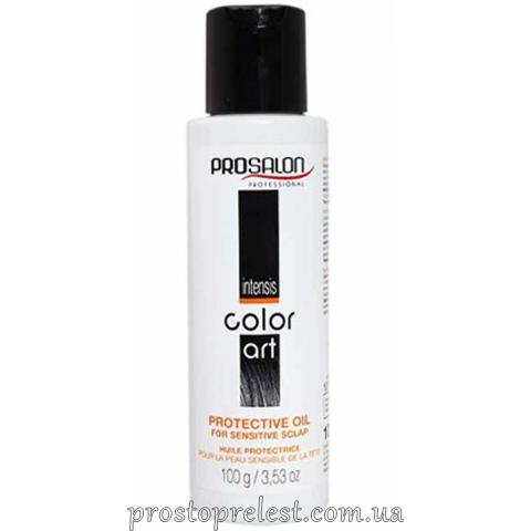Prosalon Intensis Color Art Protective Oil - Защитное масло для чувствительной кожи головы