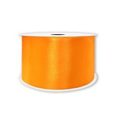 Лента Атлас Оранжевый, 7 мм * 22,85 м