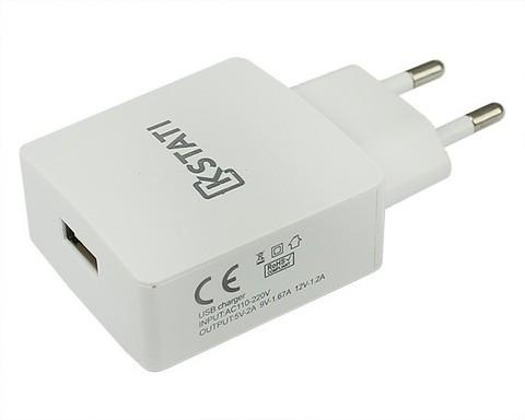 Kstati / Сетевое зарядное устройство 1USB 2A