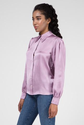 Женская сиреневая блуза ZENDAYA SATIN Tommy Hilfiger