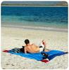 Картинка пляжное покрывало Ticket to the Moon Beach Blanket Navy/Turquoise - 4