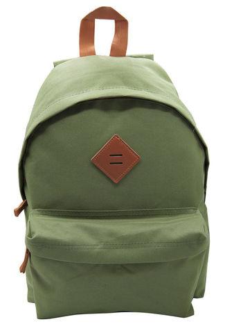 Рюкзак Silwerhof Start, оливковый/коричневый, 30х14х40 см, 16 л