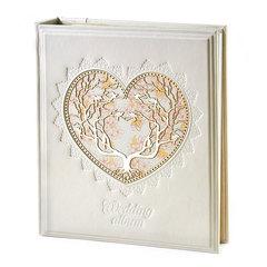 Фотоальбом в кожаном переплете «Wedding»