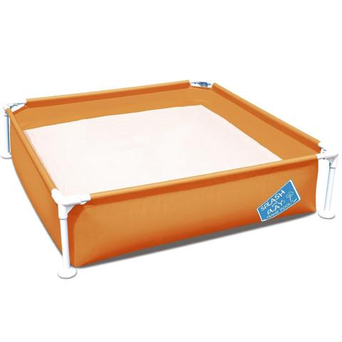 Детский каркасный бассейн Bestway 56217 (122х122х30.5 см) Orange / 17436
