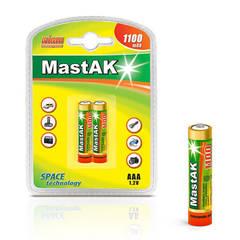 Аккумуляторы MastAK R 03/2bl 1100mAh Ni-MH