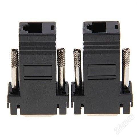 Удлинитель VGA по витой паре 30м 30 метров по одному UTP