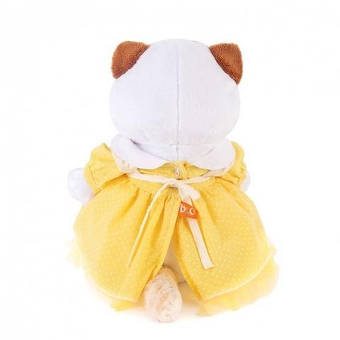 Кошечка Ли-Ли в желтом платье с передником