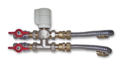 Клапан 3-х ходовой в комплекте для 4х трубных фанкойлов MDKA-**F  MDV 201680490991