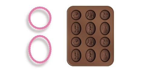 Формочки для шоколада Tescoma DELICIA KIDS, сказка