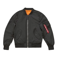 Бомбер Alpha Industries L-2B Scout W Black Женский (Черный)