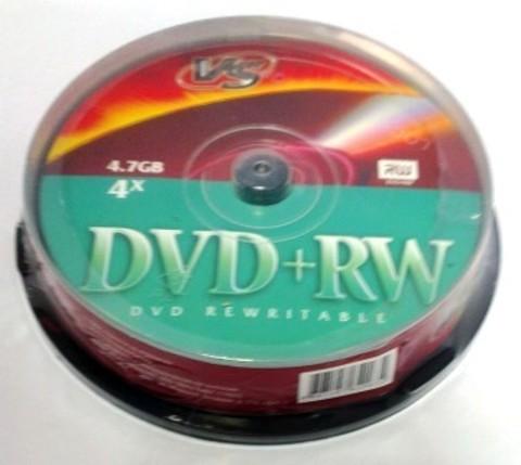 Диск VS DVD+RW 4,7 GB 4x CB/10