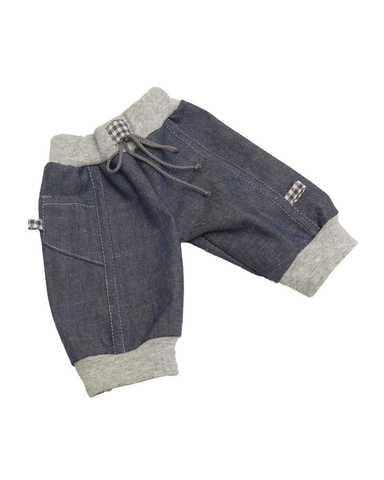Джинсовые брюки - Деним. Одежда для кукол, пупсов и мягких игрушек.