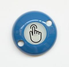 ART-ZN-Exit-Sensor Сенсорная кнопка выхода двухпроводная (синяя) АртСистемы