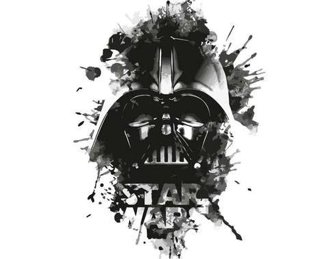 Картина по номерам на холсте Darth Vader, 40см*50см