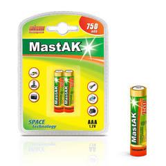 Аккумуляторы MastAK R 03/2bl 750mAh Ni-MH