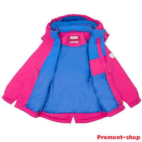 Утепленная парка Premont Дасти Роуз для девочек S18162