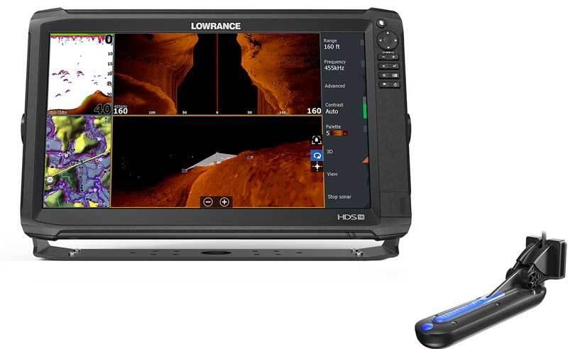 Lowrance HDS-16 Carbon с датчиком Totalscan