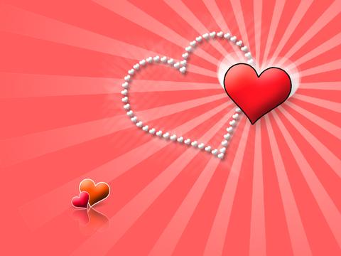 Печать на вафельной бумаге, День Влюбленных 1