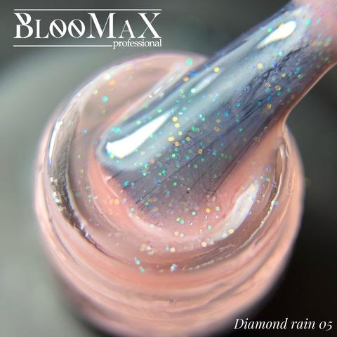 Гель лак с ароматом клубники Diamond Rain 05, 12 мл