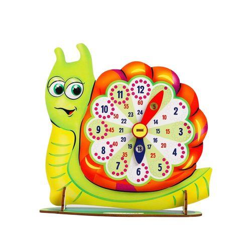 Обучающая игра часы Улитка, Smile Decor П902