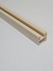 Верхняя направляющая для двери-гармошка, длина 260 см, цвет Дуб белёный
