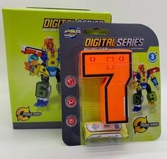 Цифры Трансформеры в двух коробках от 0 до 10 Digital Series
