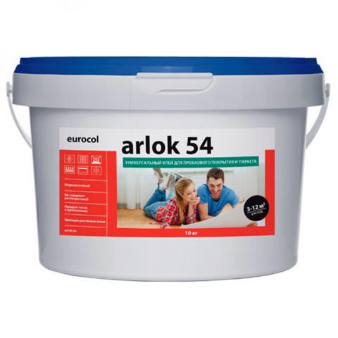 Универсальный клей для пробковых покрытий и паркета Arlock 54 10 кг