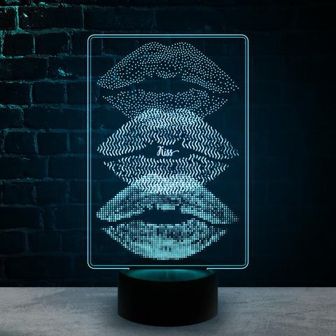 Губы поцелуй (Kiss)