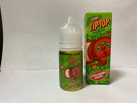 Extra Double Lychee by TIP TOP Salt 30мл