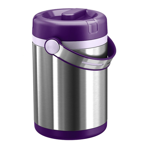 Термос для еды Emsa Mobility (1,7 литра), фиолетовый/стальной