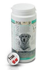 """POLIDEX """"Супер Вул Плюс"""" улучшает состояния кожи, шерсти и когтей у щенков и собак крупных пород"""