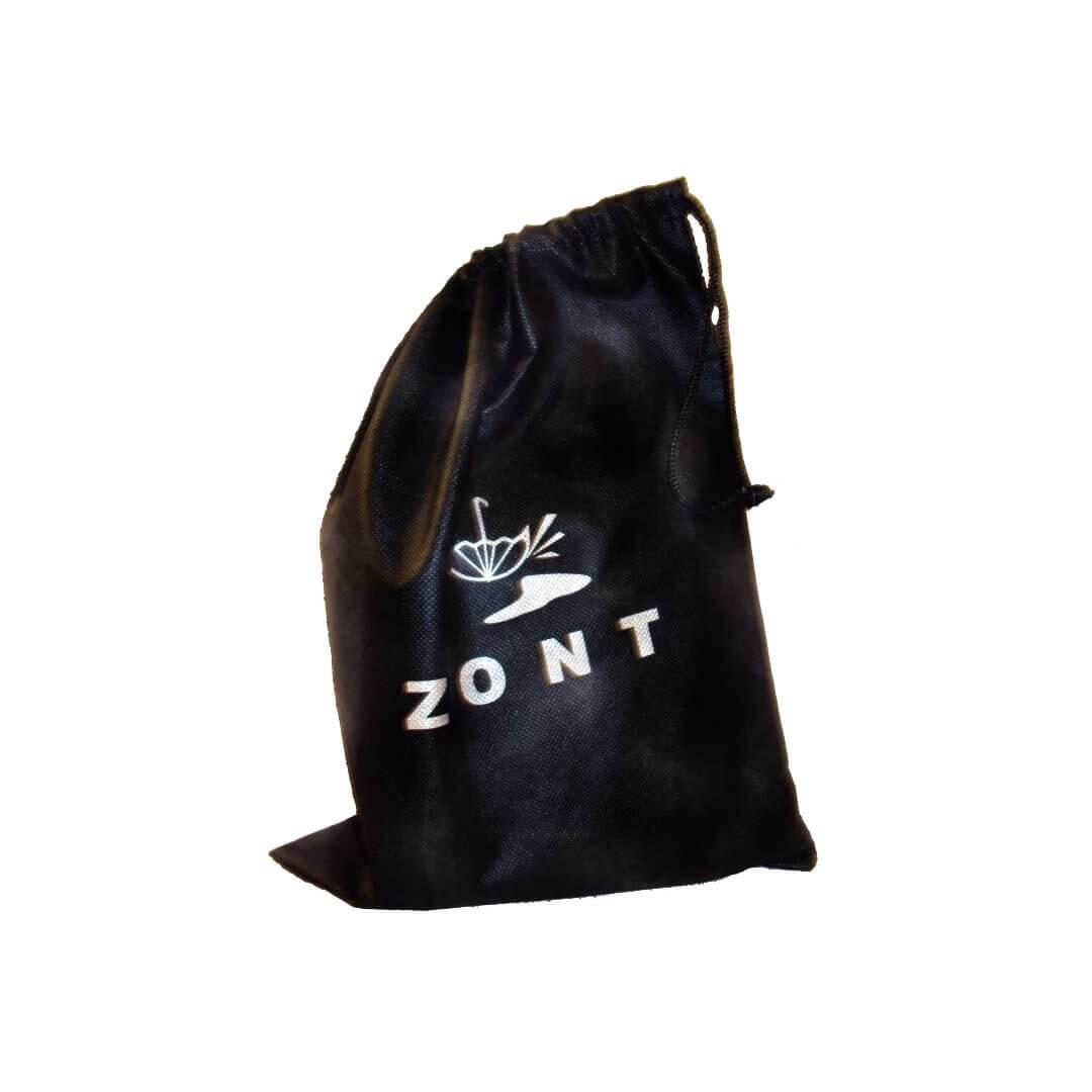 Галоши Zont мужские черные открытые мешочек для хранения