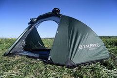 Палатка Talberg Burton 1 Alu зеленый - 2