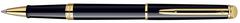 Роллерная ручка Waterman Hemisphere Essential Black GT. Корпус и колпачок - лаковые