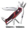 Нож Victorinox RangerGrip 174 Handyman, 130 мм, 17 функций, красный с черным