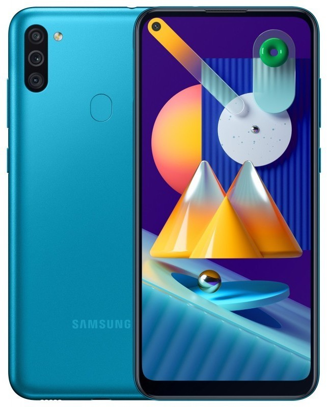 Samsung Galaxy M11 3/32GB Бирюзовый blue1.jpg