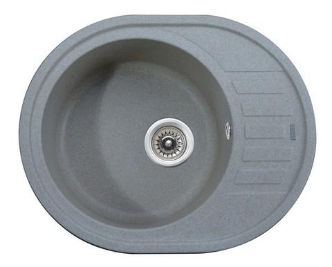 Кухонная гранитная мойка Kaiser KGMO-6250-G серый