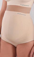 EUROMAMA. Корсет для беременных бесшовный, 4 косточки бежевый вид 11