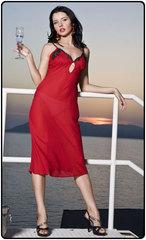 Ночная сорочка шелковая (Charoi) Италия