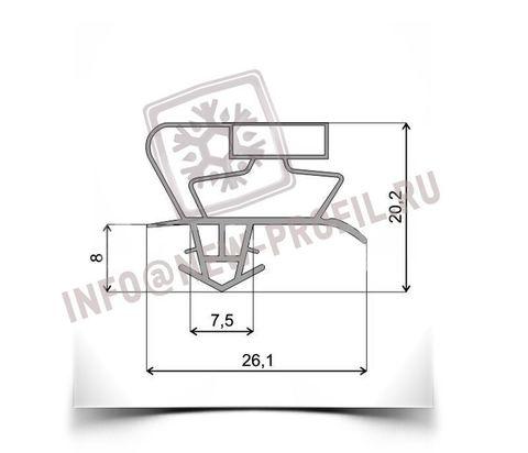 Уплотнитель для холодильника TOSHIBA GR-M59TR х.к. 1110*610 мм по пазу(017)
