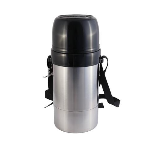 Термос Амет DN Дорожный (1,5 литра) с узким горлом, на ремне