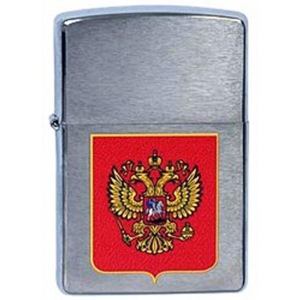 Зажигалка Zippo Герб России (200)