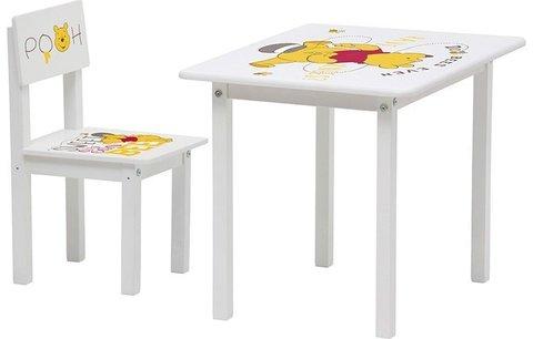 Комплект детской мебели Polini Kids Disney baby 105 S, Медвежонок Винни, белый