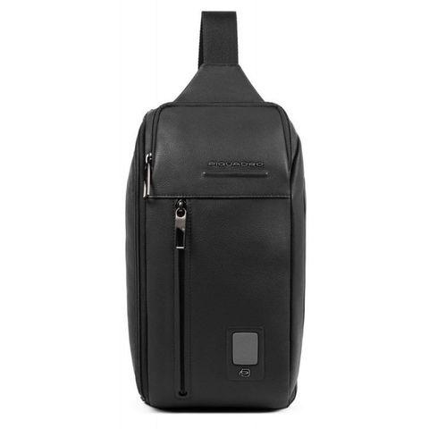 Рюкзак унисекс Piquadro Acron (CA5107AO/N) черный кожа