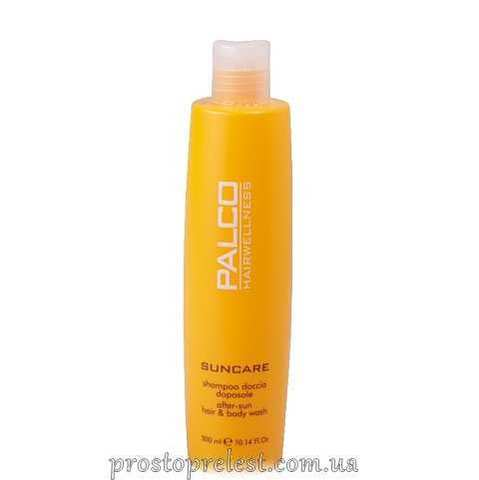 Palco Professional Sun Care After Sun Hair & Body Wash - Солнцезащитный шампунь для волос и тела