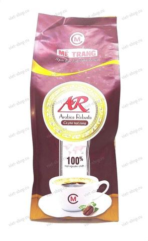 Вьетнамский зерновой кофе Me Trang Arabica Robusta, 500 гр.