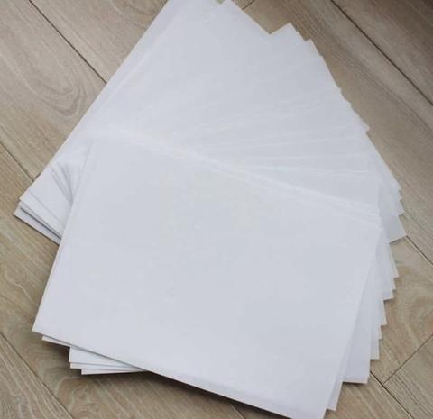 Вафельная бумага А4, 5 листов (чистая)
